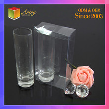 Foldable Non-Toxic PVC Transparent Plastic Packaging Boxes