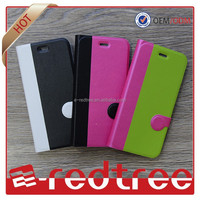 New arrive cellphone Magnetic Sublimation flip leather case for iphone 6