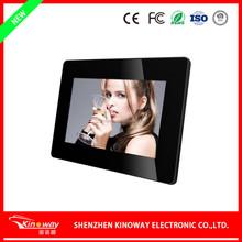 Alibaba 7 inch love photo frame LCD metal digital picture frame video autoplay digital photo frame K-1720DPF