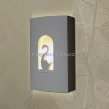 White swan LED wall lamp
