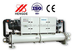 Brand Refrigeration Water Type Cooled Screw Chiller In Asia