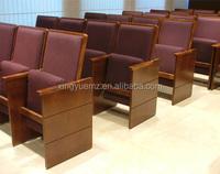Church pew, solid wood church furniture