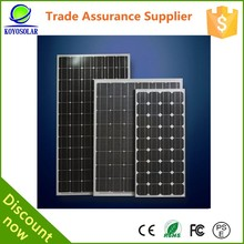 250 watt solar panel monocrystalline for home use