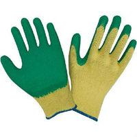 Cotton yarn liner latex dipped waterproof winter gloves