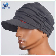Hot china products wholesale customable hats/fashion drape caps/cool men's winter hat