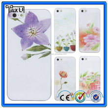 High Quality Art Print Design cell phone case for iphone5, Printed PC cell phone case for iphone 5