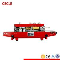 portable efficient continuous band sealer machine
