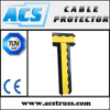 No damage for vehicle tire rubber cable protector cross
