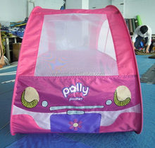 Modern promotional children pop-up play tent with balls