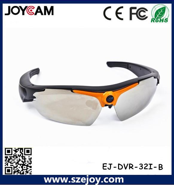 720p hd gafas de sol cámara 5mp cmos cámara 1280 * 720 elegante sunglass de la manera