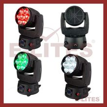 mini moving head,7*15w led zoom,led light music
