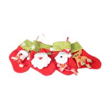 2015 New Year Children Gift Decorative Felt Christmas Stocking