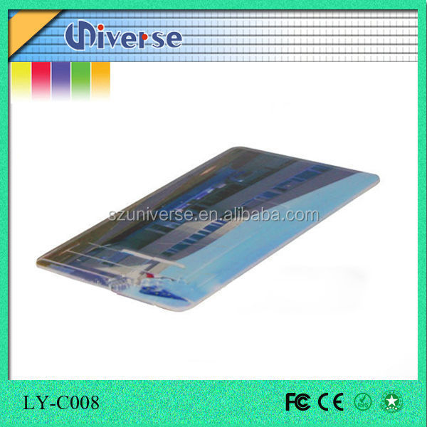 Marketing gift usb business card custom made super thin for Union made business cards