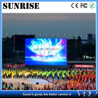 hot item 2013: high resolution and brightness all sizes lcd tv brand lcd tv full color outdoor double sided led sign electronic