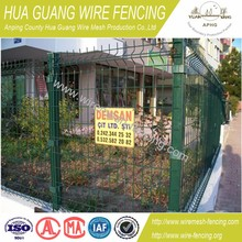 PVC coated wire mesh fence - 20 years factory fence experience&get BV certificate