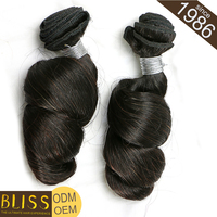 Could Be Dyed Any Color With Packaging Brazilian Human Hair Meche