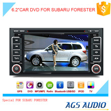 touch screen car dvd player for with audio system/mp3/gps for SUBARU FORESTER