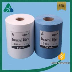 Industry wipes hydrophilic meltblown non-woven fabric oils absorbent cleaning wipes
