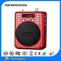 NEWGOOD 2015 bluetooth portable loudspeaker amplifier with microphone and digital jukebox