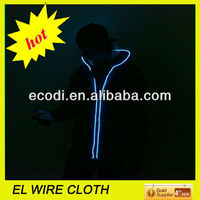 Hot!!!New!!Flash Clothes,Flash up Clothes, Flashing Clothes Glow in dark