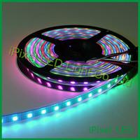 Intelligent flexible SMD5050 rgb ws2812b led strip light