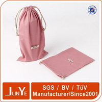 Liquor bottle shaped pouch packing nylon polyester drawstring bags