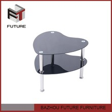 hot sell glass and chrome end tables