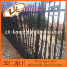 high security powder coated palisade fence