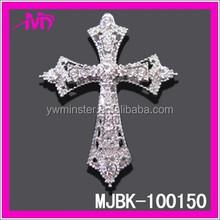 wholesale rhinestone wedding chair sash buckle MJBK-100150