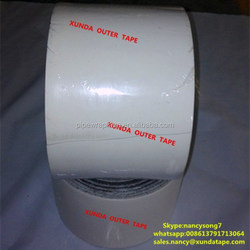 Polyethylene adhesive outer tape corrosion protection for pipes