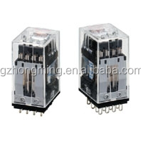 OMRON RELAY Highly Reliable, 4-pole Miniature Relay Ideal for Sequence Control