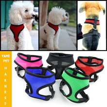 Wholesale 5 Colors 5 Sizes Available High Quality Air Mesh Dog Harness,Puppy Comfort Harness!!!