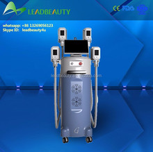 Hot!!! 4 cryo heads newest vacuum cryolipolysis device
