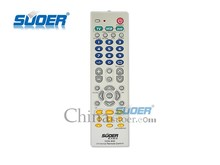 Suoer 3-in-1 Remote Control Best Quality Universal Remote Control for TV/DVD/VCD