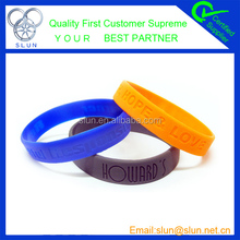 Promotional items silicone wristband cheap