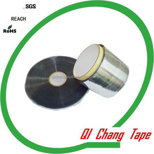 12mm strong adhesion aluminum foil protective film permanent sealing tape for all kinds of plastic bags