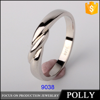 2015 new design engagement ring silicone wedding ring silver 925 latest finger ring designs