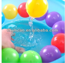 Colorful Plastic Ball ocean toys baby ball toys 5.5cm 6cm 7cm new material blowing balls