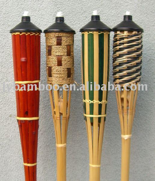 artesanato de bambu para jardim : artesanato de bambu para jardim:Bamboo Torch