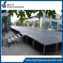 TFR lastest Aluminum Organic Plexiglass outdoor Stage for sale