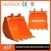 Mini excavator bucket, digger spare parts, excavator spare parts, 0.3 cubic