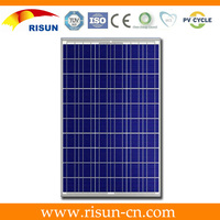 60W poly crystalline solar panel for electricity from Chinese manufacturer price per watt