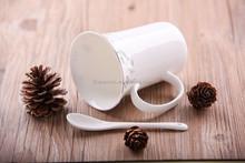 Factory Prices Logo printing custom printed tea cups and sauCeramic Mugs white ceramic mug fine bone china coffee mug with plate