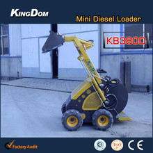 Advantageous 4wd 23hp tractor with front end loader and backhoe