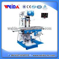 China vertical universal swivel head milling machine for sale X6432