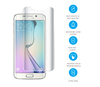 import 3D Curved Edge Full Cover HD clear mobile phone accessories screen protector for samsung s6 edge