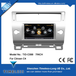 s100 menu car dvd player for citroen C4