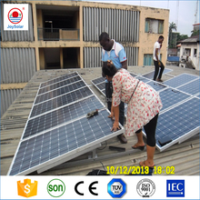 price of 1w-10kw high efficience solar panels China supplier