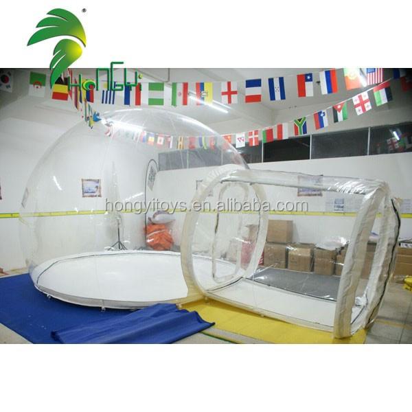 inflatable Transparent tent. (4)