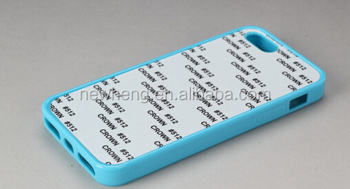2014 high quality, blank 2d sublimation case for iphone 5